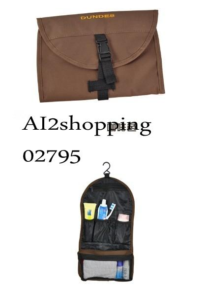 New portable multi-function trip Pouch Bag02795-Brown