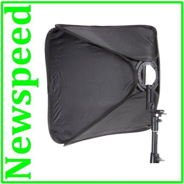 Portable Softbox for Speedlite Flash Light (50x50 cm) with Stand