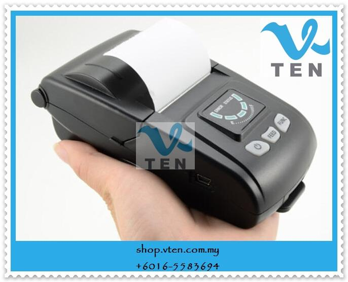 Portable Thermal Wireless Bluetooth Receipt Printer 58mm Android Apple