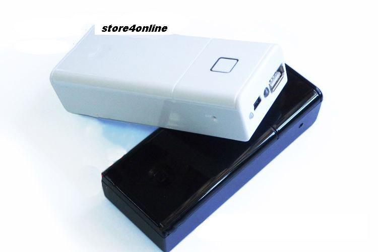Portable USB Battery 18650 Box for iPhone iPod and USB Devices