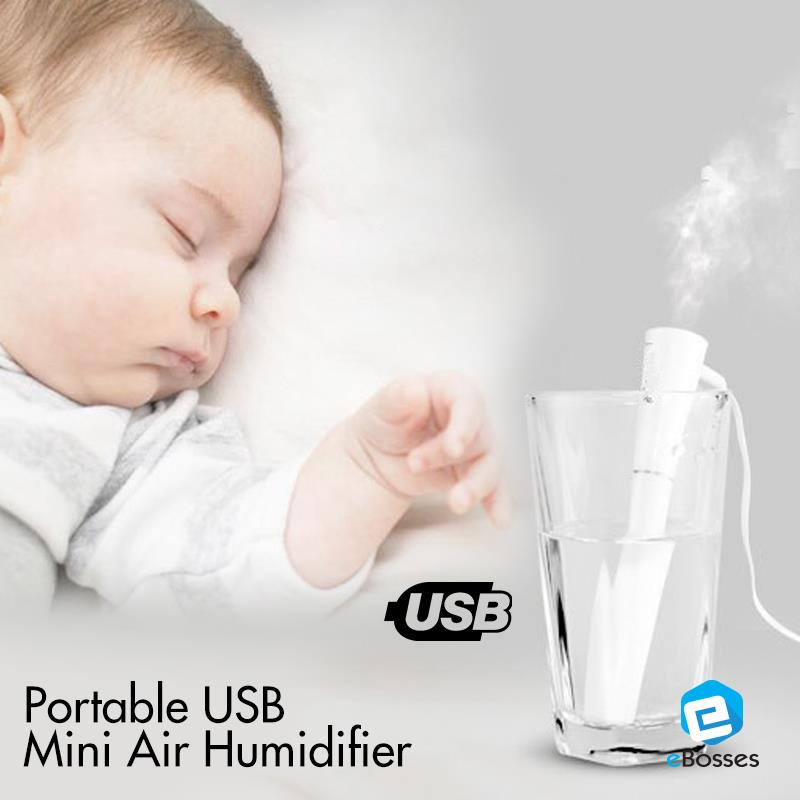 New Portable USB Mini Air Pocket Humidifier