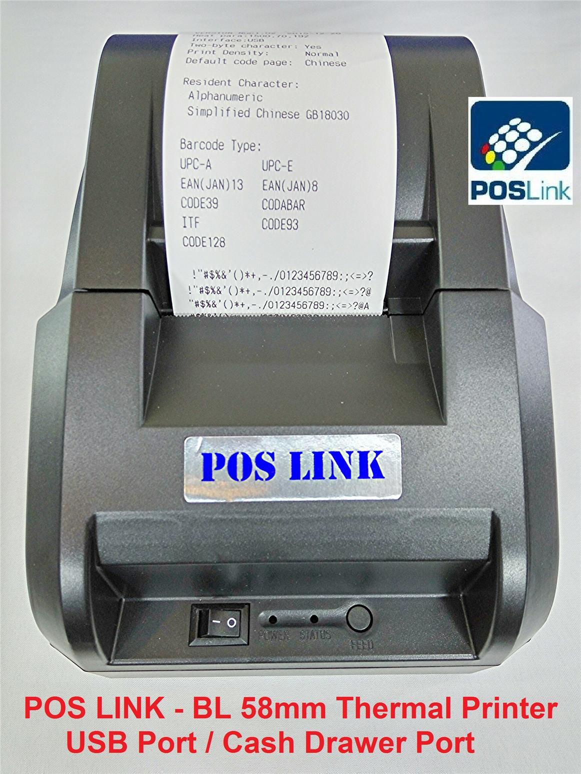 POS Link-BL58mm USB Thermal Printer