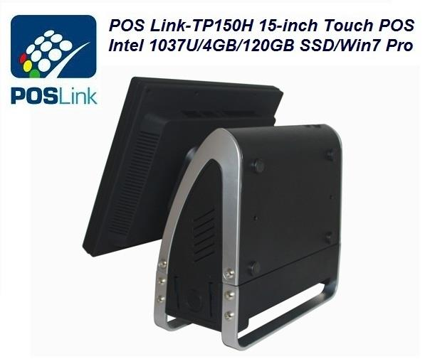 POS Link-Touch POS  All in one PC TP150H 15-inch with Win 7 Pro.