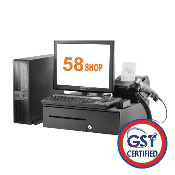 POS System with inventory & GST Ready