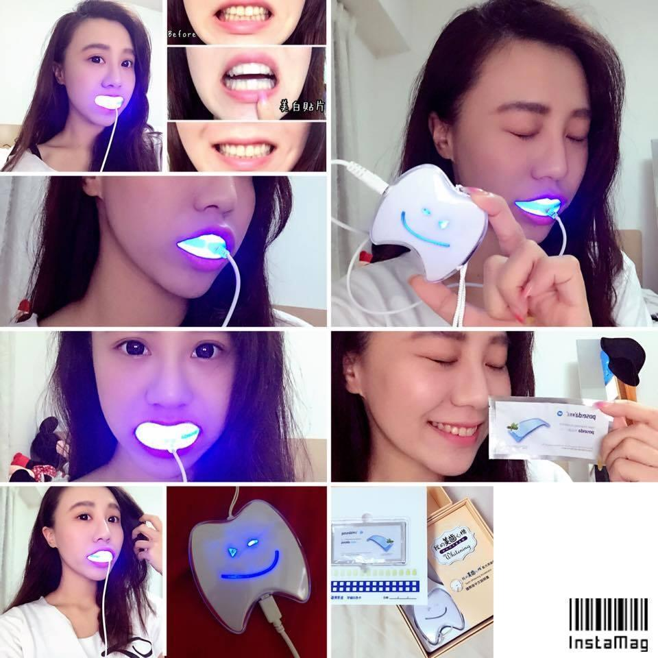 poseida Teeth Whitening Strips 10 pieces - Refill Pack