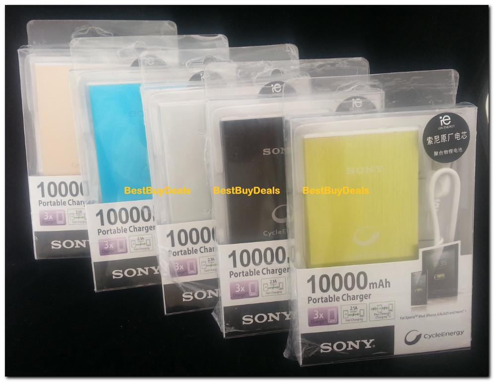 Harga Power Bank Sony 10000mah Power Bank Sony Cycleenergy