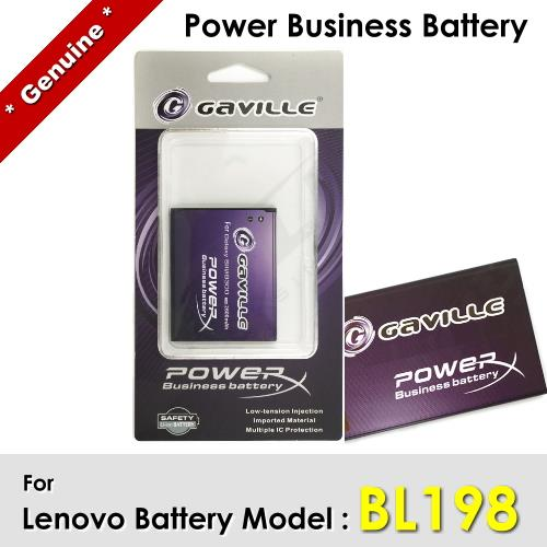 Power Business Battery BL198 BL-198 Lenovo K860 S880 Battery 1Y WRT