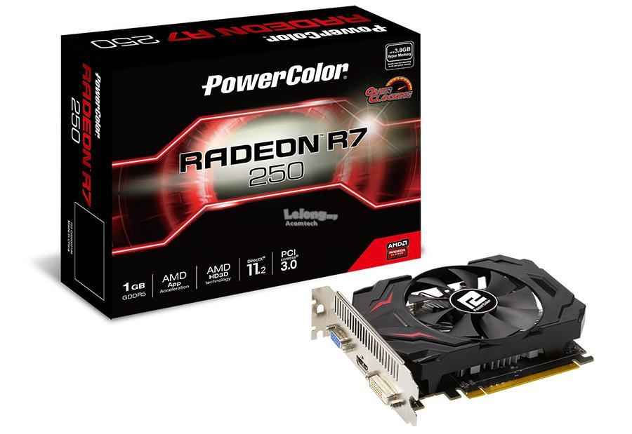 Power Color Radeon R7 250 1GB GDDR5 V3 OC