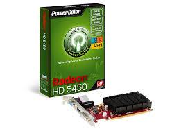 POWER COLOR VGA PCIE ATI 5450 1GB DDR3 64BIT GRAPHIC CARD