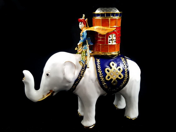 power elephant with warrior and magic barrel buy feng shui cure buy feng shui