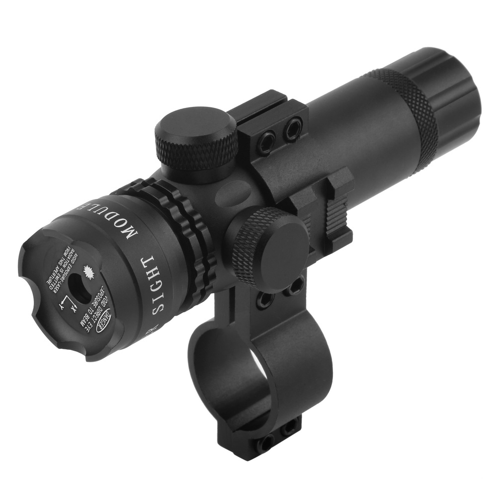Powerful Tactical Hunting Green Dot Laser Sight Scope With Rail Mount