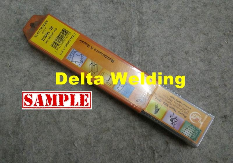 Powerweld Malaysia welding electrode supplier ( 309L-16 ) 2.6mm