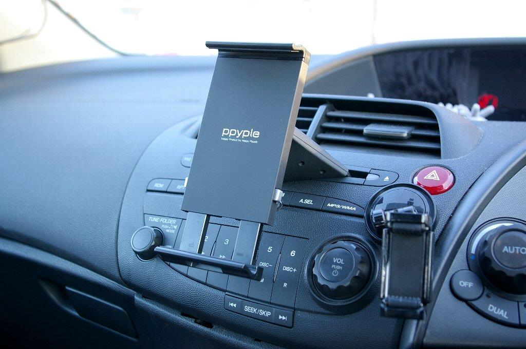 Ppyple CD-NT Car CD Slot Mount - Iphone/Smartphone/Tablet PC 4' - 11'