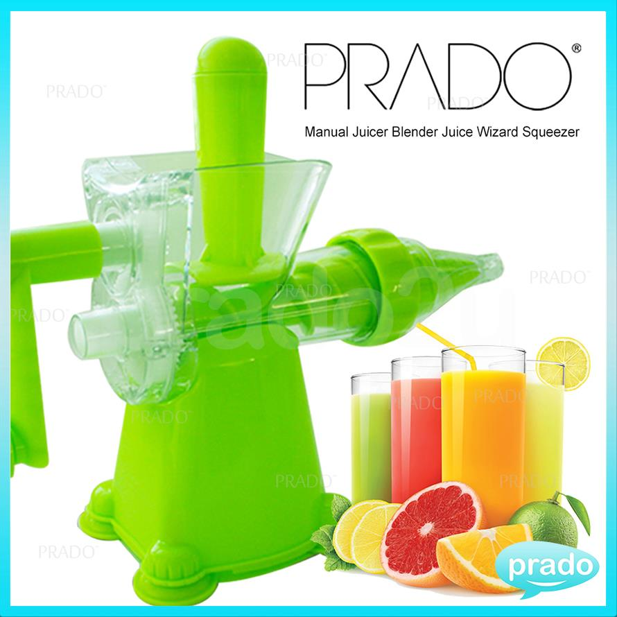 Juice Wizard Slow Juicer : PRADO Manual Juicer Blender Juice W (end 2/22/2018 12:15 PM)
