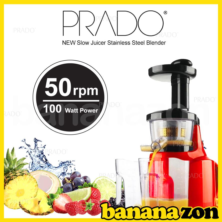 PRADO NEW Slow Juicer Stainless Stee (end 1/16/2018 1:15 PM)
