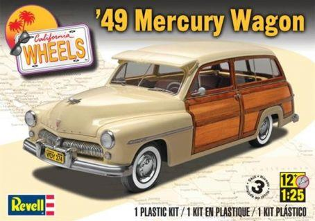 Pre order 1:25 Revell 49 Mercury Wagon Plastic Model Kit