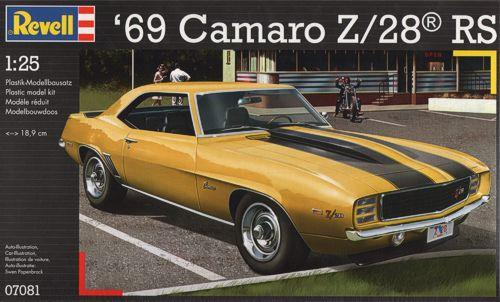 Pre order 1:25 Revell 69 Camaro Z/28 RS Plastic Model Kit