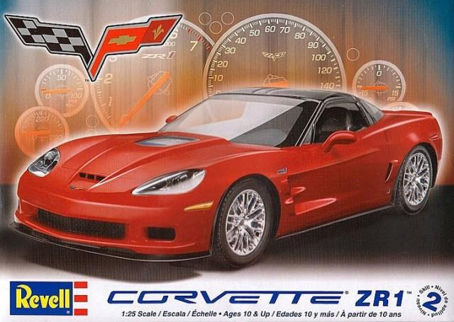 Pre order 1:25 Revell Corvette ZR1 Plastic Model Kit