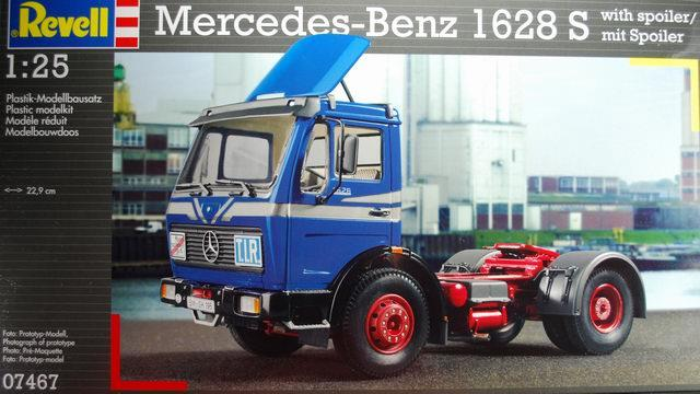 Pre order 1:25 Revell Mercedes-Benz 1628 S Plastic Model Kit