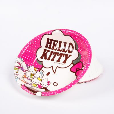 (Pre Order 1 Month) 4pcs Hello Kitty Party Paper Bowl