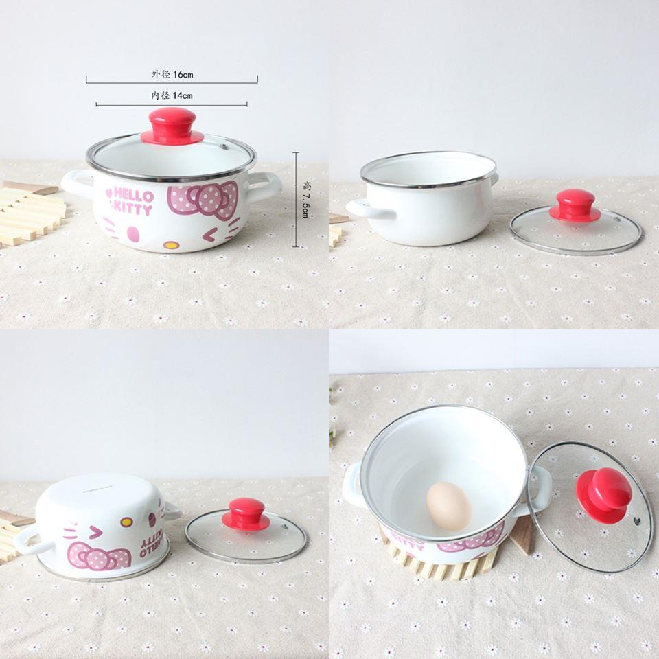 (Pre Order 1 Month) Hello Kitty 2 Handle Pot