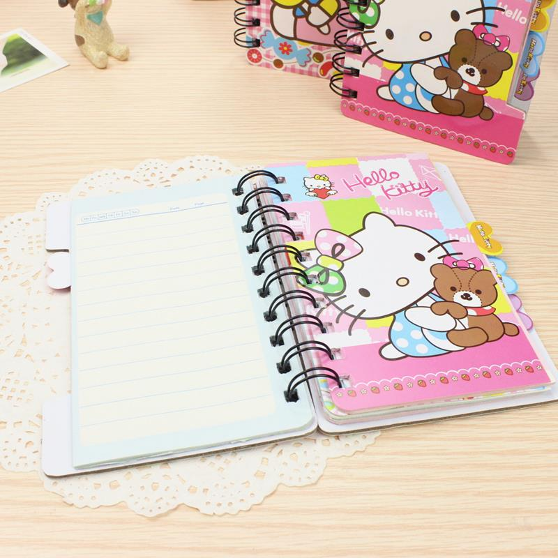 (Pre Order 1 Month) Hello Kitty Cute Ring Note Book