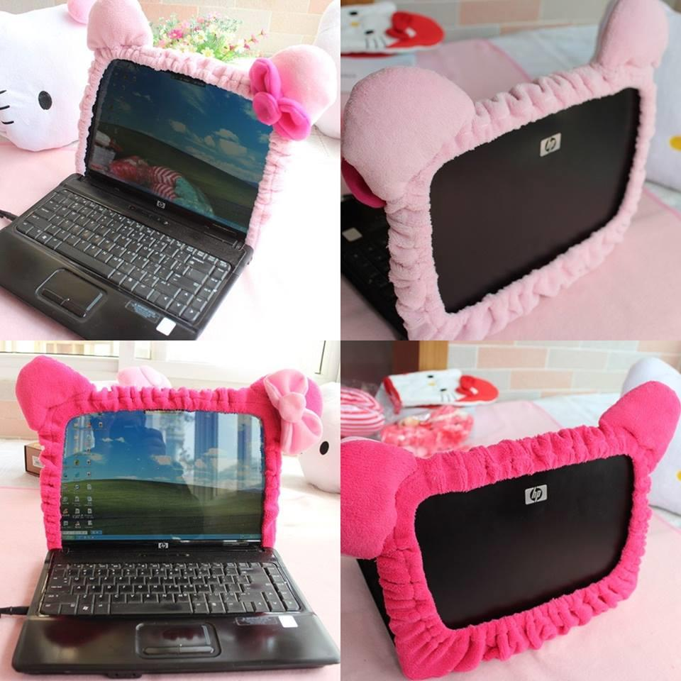 (Pre Order 1 Month) Hello Kitty Laptop Screen Cover (Pink/Rose)