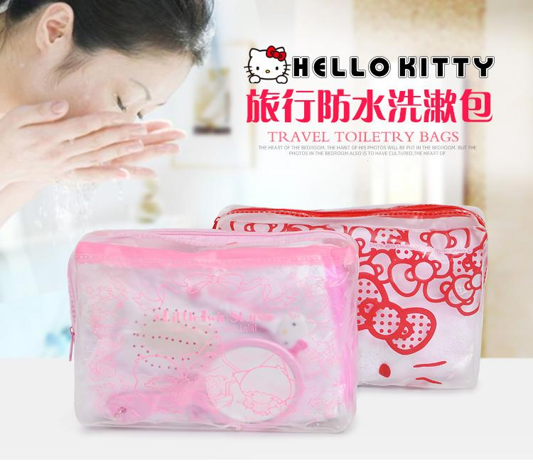 (Pre Order 1 Month) Hello Kitty Travel Toiletries Bag