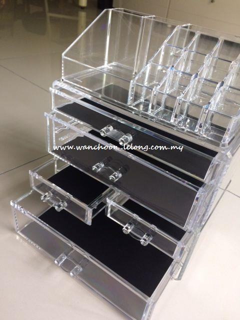 (PRE_ORDER)Acrylic Makeup/Jewelry Organizer/Cosmetic Box