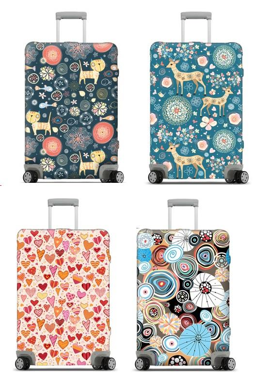 PRE ORDER ~ Euro  Fashion Stretchable Luggage Protector Size S - XL