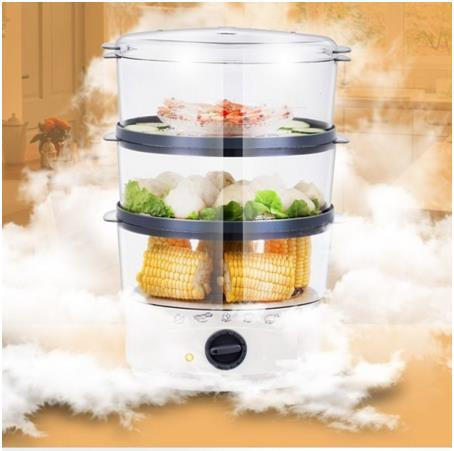 Premium 12L 3 Tier Multi-functional Food Steamer