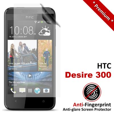 Premium Anti-Fingerprint HTC Desire 300 Zara Mini Screen Protector