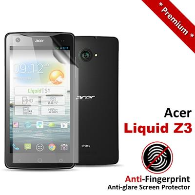 Premium Anti-Fingerprint Matte Acer Liquid Z3 Screen Protector