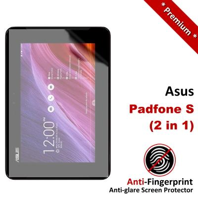 Premium Anti-Fingerprint Matte Asus Padfone S 2-in-1 Screen Protector