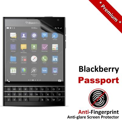 Premium Anti-Fingerprint Matte Blackberry Passport Screen Protector