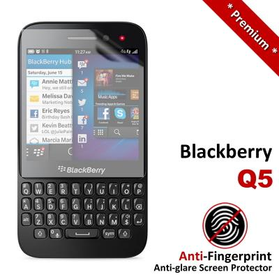 Premium Anti-Fingerprint Matte Blackberry Q5 Screen Protector