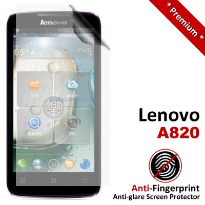 Premium Anti-Fingerprint Matte Lenovo A820 Screen Protector