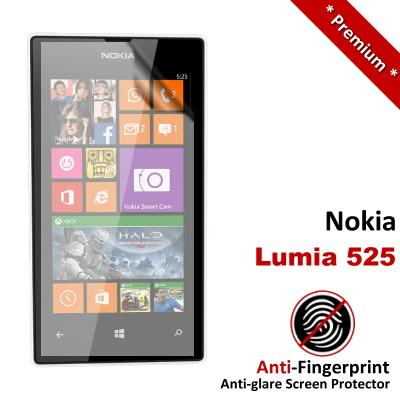 Premium Anti-Fingerprint Matte Nokia Lumia 525 Screen Protector