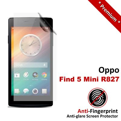 Premium Anti-Fingerprint Matte Oppo Find 5 Mini R827 Screen Protector