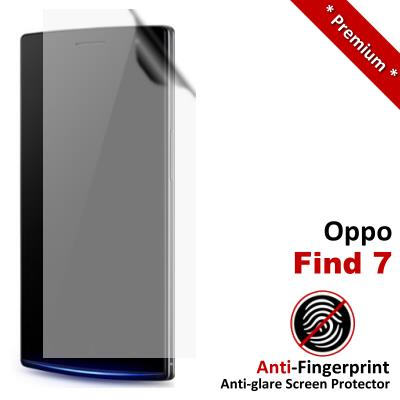 Premium Anti-Fingerprint Matte Oppo Find 7 Screen Protector