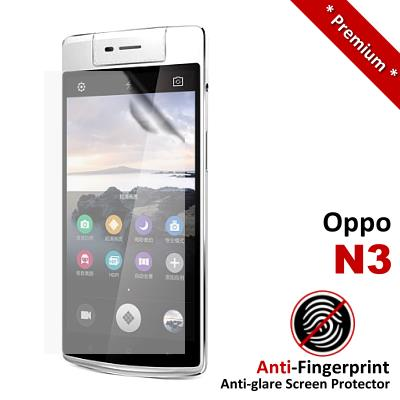 Premium Anti-Fingerprint Matte Oppo N3 Screen Protector