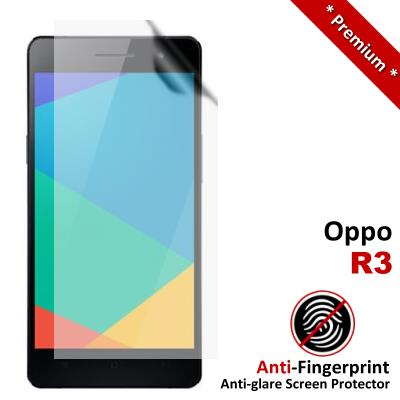 Premium Anti-Fingerprint Matte Oppo R3 Screen Protector
