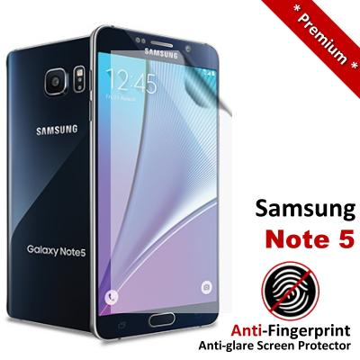 Premium Anti-Fingerprint Matte Samsung Galaxy Note 5 Screen Protector