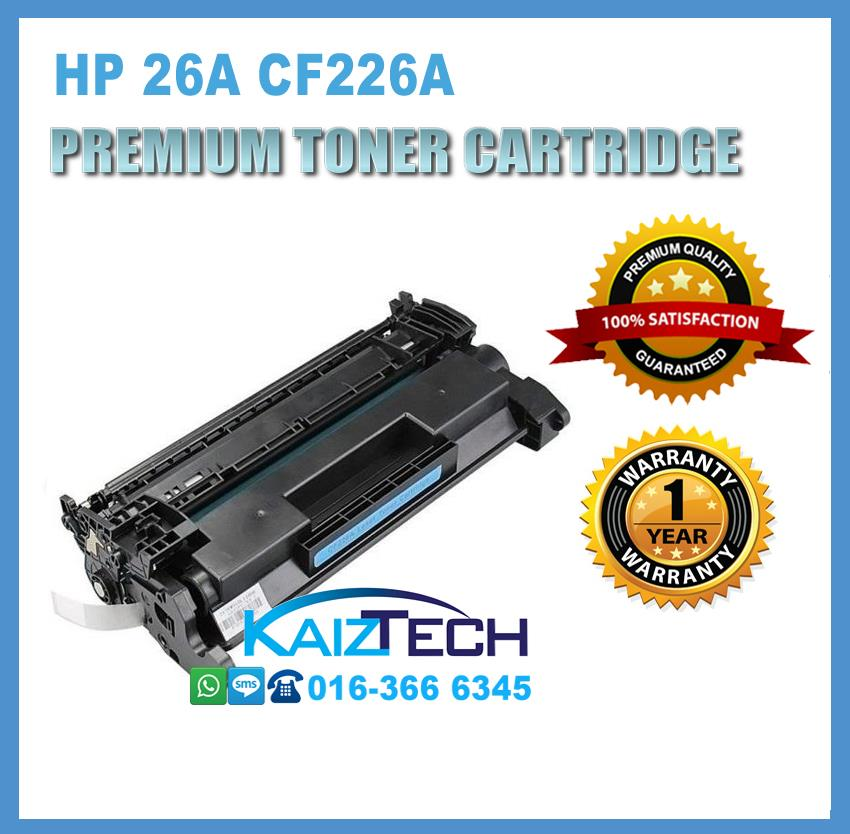 Premium Grade Compatible HP 26A CF226A Toner Cartridge