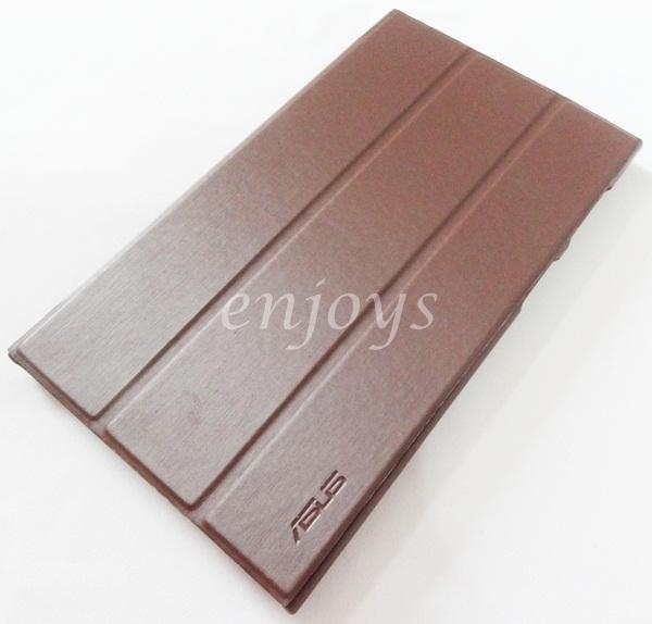 Premium Hard Case Cover Pouch Asus Memopad 7 ME572CL ME572 ~BROWN