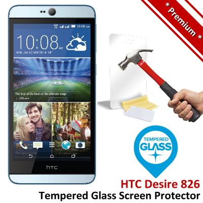 Premium Protection HTC Desire 826 Tempered Glass Screen Protector