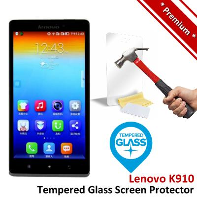 Premium Protection Lenovo K910 Tempered Glass Screen Protector