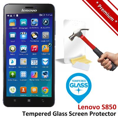 Premium Protection Lenovo S850 Tempered Glass Screen Protector