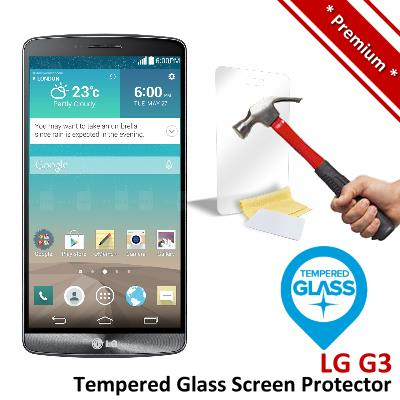 Premium Protection LG G3 Tempered Glass Screen Protector