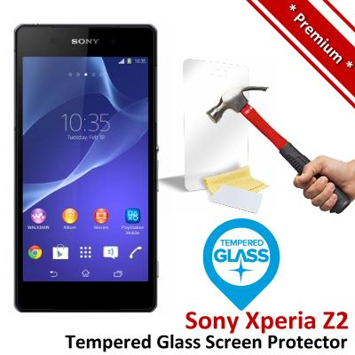 Premium Protection Sony Xperia Z2 Tempered Glass Screen Protector